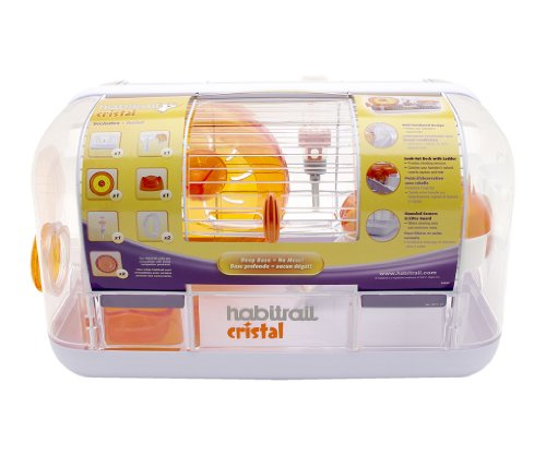 Image of Habitrail Cristal Hamster Cage, Small Animal Habitat