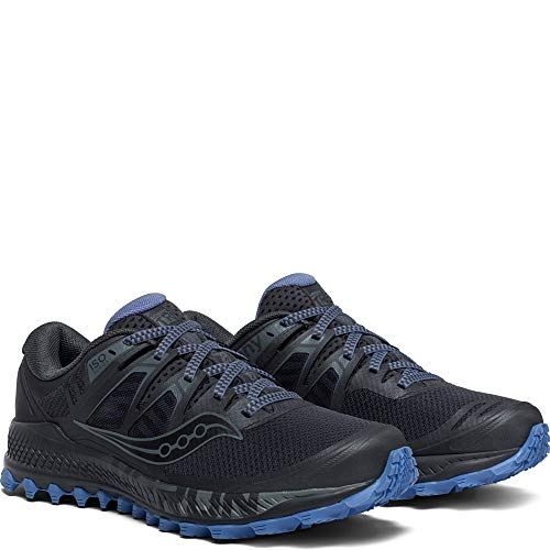 Saucony Women's Peregrine ISO Trail Running Shoe, Gunmetal, 5.5 W US by Saucony (Image #4)