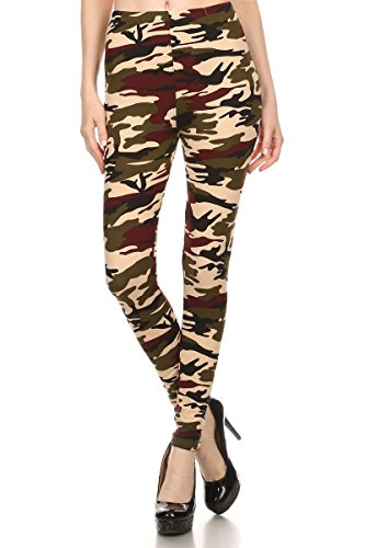 Buttery Waisted Assorted Printed Leggings product image