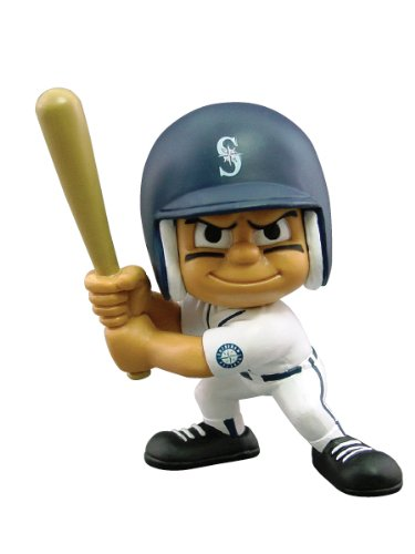 (Party Animal Toys Lil' Teammates Seattle Mariners Batter MLB Figurines)