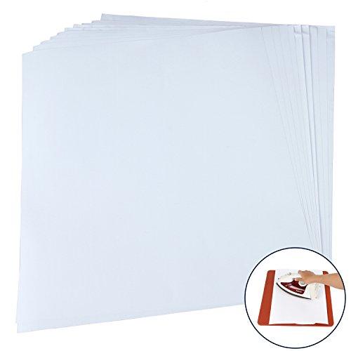 RUSPEPA 12 15 Non-stick Silicone Paper, For Heat Press Transfers - 10 Pack