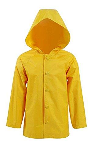 Kids Raincoat Jacket Cosplay Costume Horror Movie Joker Hooded Jacket (XL, (Horror Joker)