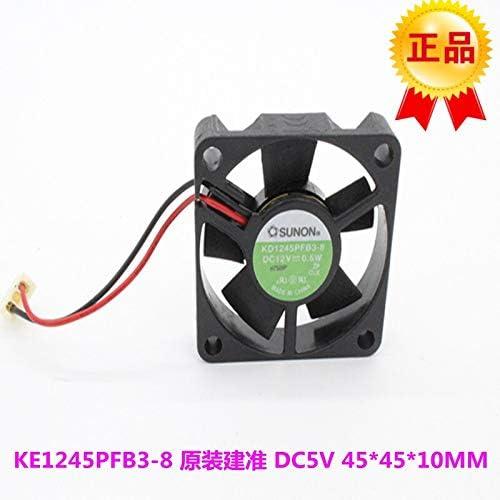 Newly built KD1245PFB3-8 SUNON 4510 4.5CM 0.5W 12V 4.5 454510MM silent fan