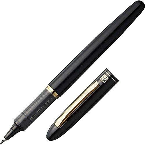 Kuretake Tegami Refillable Letter Pen - Super Fine Lettering Tip - Black Body