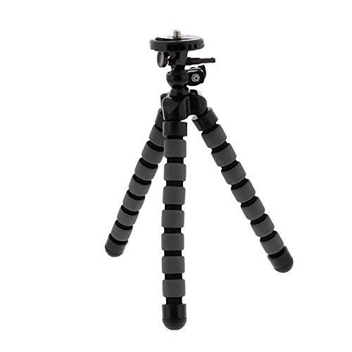 Albinar 7 Inch Large Flexible Bendy Twist Spider Leg and Swivel Light Weight Portable Travel Tripod for Cameras Camcorders Photography