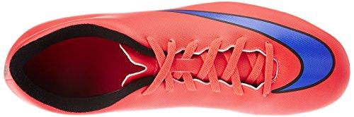 Nike Mercurial Vortex II FG - Zapatillas de fútbol Hombre Bright Crimson/Persian Violet