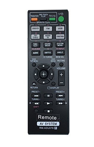 vinabty-new-rm-adu078-replacement-remote-fit-for-sony-dvd-home-theater-system-dav-tz710-hbd-dz170-hb