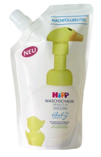 HiPP Babysanft Waschschaum Nachfüller, 6er Pack (6 x 250 ml)