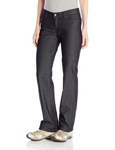 prAna Women's Jada Jean Organic - Tall Inseam Pant, Black, Size 12 (Jeans Similar To 7 For All Mankind)