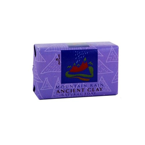 - Zion Health Clay Soap, Mountain Rain, 6 Ounce