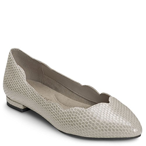 Aerosoles Women's Flower Girl Grey Snake 6 B US