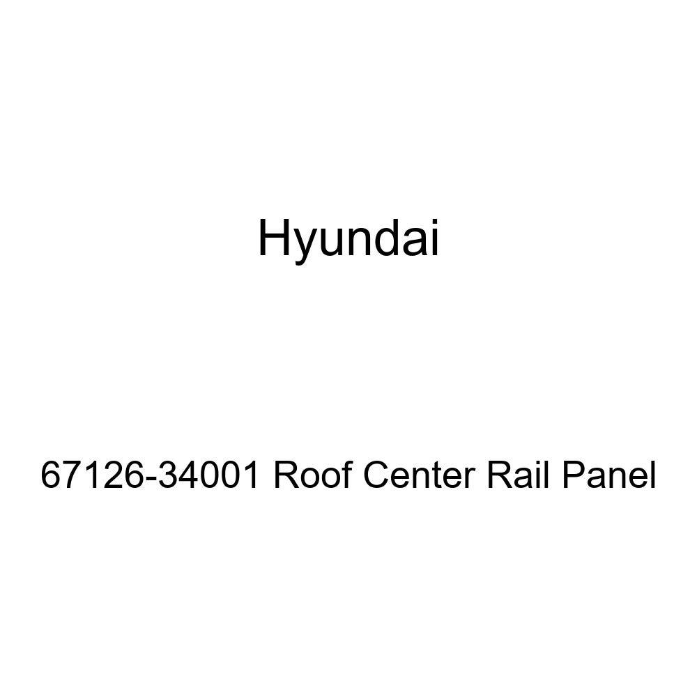 Genuine Hyundai 67126-34001 Roof Center Rail Panel