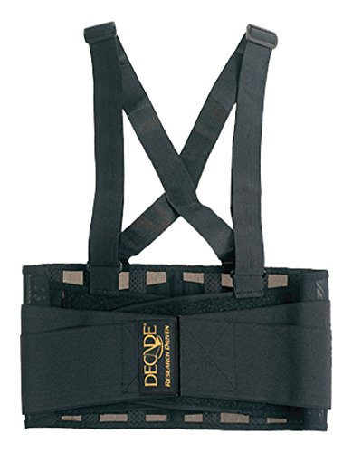 Decade 46030 Low Profile Back Support Black XS Pro-Motion Distributing Direct