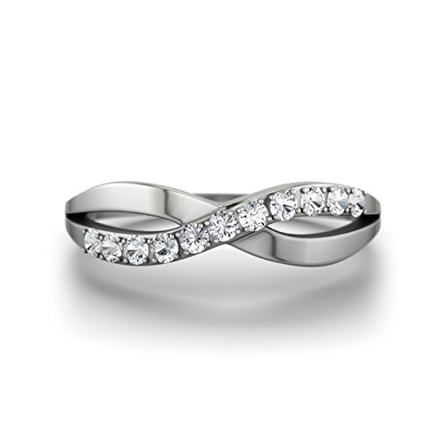 Verlobungsringe Silber Ring Damen 21diamonds Brookelyn Zirkonia