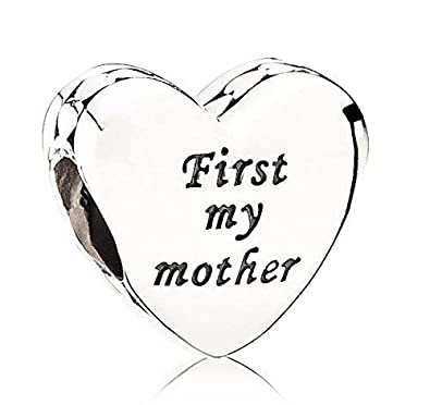 bd4323a9a Pandora First My Mother Forever My Friend Heart S925 ALE: Amazon.co.uk:  Jewellery