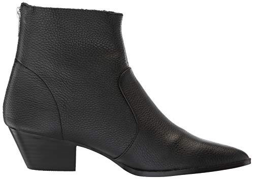 Leather Caf Us M Black 7 Women's Madden Boot Western Steve ë gw7n0x
