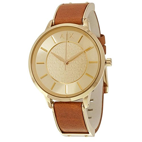 Armani Exchange Women's AX5314 Brown  Leather Watch