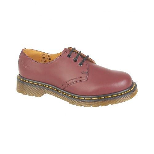 Dr.Martens 1461Z Cherry Leather Mens Shoes Size 10 UK