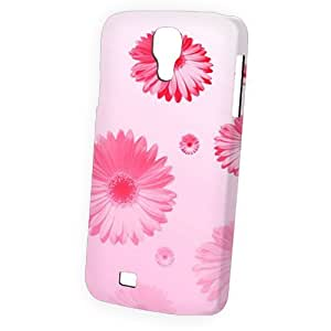 Case Fun Samsung Galaxy S4 (I9500) Case - Vogue Version - 3D Full Wrap - Pink Daisies