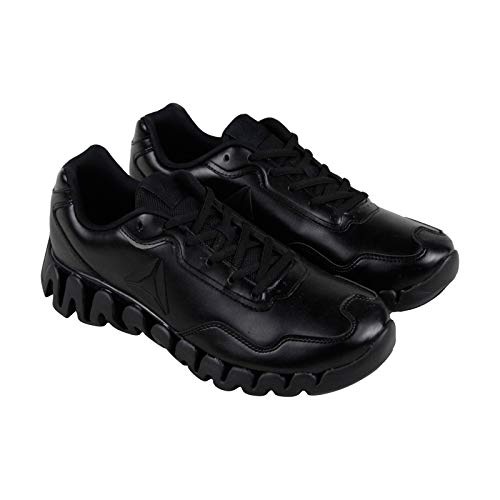 huge selection of 24b9c 2d65a Reebok Men s Zig Pulse Running Shoe, Black Matte, 9 M US