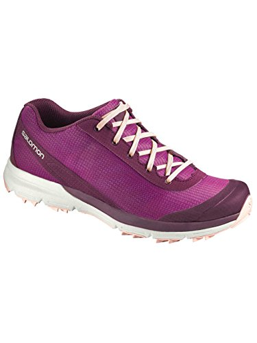 Salomon Women's 7 Mallow Mystic Pink Shoe 5 Sense Colors Bordeaux Purple rwqrT6