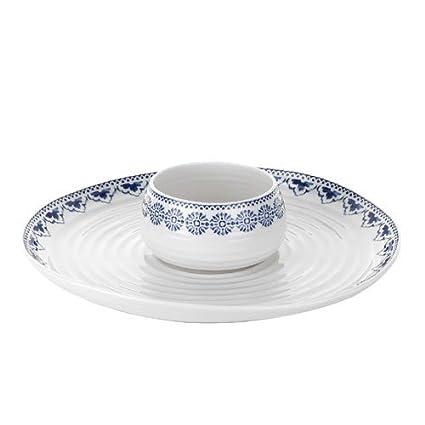 Portmeirion Sophie Conran Dipping Dish /& Platter