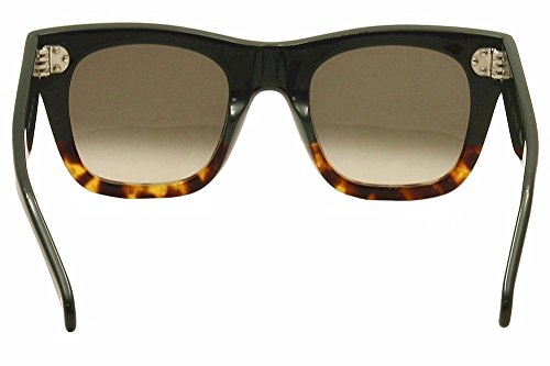 83906f8658 Celine 41089 S FU5 Black Havana Catherine Small Wayfarer Sunglasses Lens  Catego