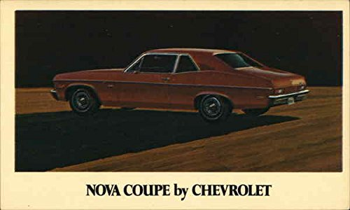Nova Coupe by Chevrolet Cars Original Vintage -