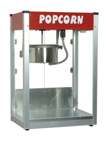 - Paragon - Manufactured Fun Thrifty Pop Pop 8 Ounce Popcorn Machine for Professional Concessionaires Requiring Commercial Quality High Output Popcorn Equipment