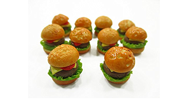 Dollhouse Miniature White Castle Frozen Cheeseburger Box Groceries Food 1:12