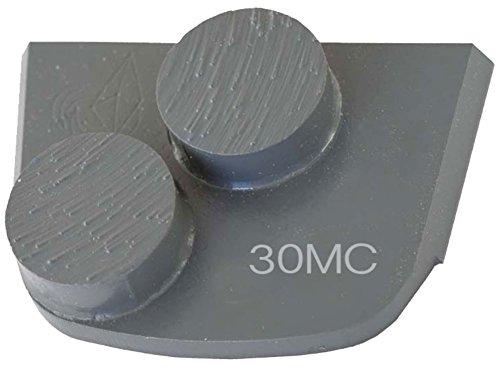 Lavina X2B-MC-0030 Diamond Medium Metal Bond for Medium Concrete 30 Grit Double Button Segment
