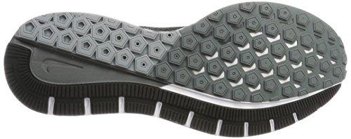 Nike Heren Air Zoom Structuur 20 Hardloopschoen Zwart / Cool Grijs / Zuiver Platina / Wit