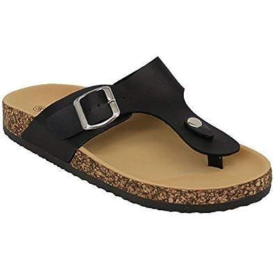 3220f69a3cf2 CM Ladies Sandals 2003 Black UK 4  Amazon.co.uk  Shoes   Bags