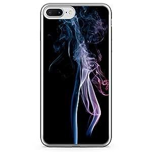 Loud Universe iPhone 7 Plus Transparent Edge Case - Smoke Print