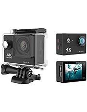 Black H9 4K Ultra HD 1080P WiFi Action Camera Camcorder Sports DV Video Recorder 30M Waterproof