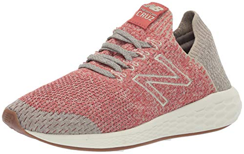 (New Balance Men's Cruz V2 Sockfit Fresh Foam Running Shoes, raw Clay/Stoneware/Earth, 7 D US)
