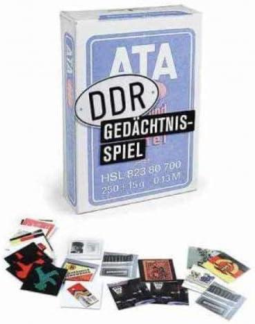 Das DDR Ged/ächtnisspiel Inkognito Memory