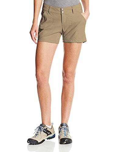 Columbia Women's Saturday Trail Short, Water & Stain Resistant, British Tan, 10x5