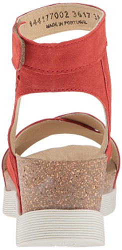 Fly London Donna Weel177fly Sandal Scarlet Cupido
