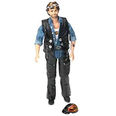 Barbie Harley Davidson Collectible Ken Doll #2: Toys & Games