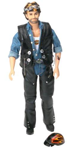 Harley Davidson Collectible Doll (Harley Davidson Barbie Collectible Ken Doll #2)