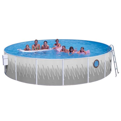 Splash Pools Above Ground Round Pool Package, 12-Feet by 42-Inch by Splash Pools