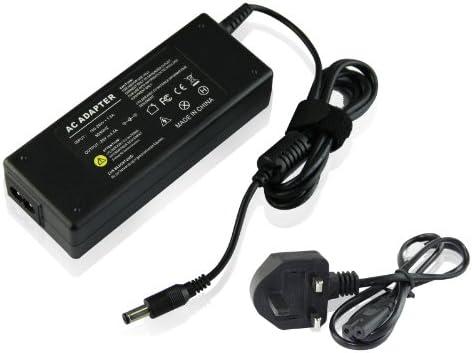 UKOUTELT® Cargador con fuente de alimentación y adaptador sector de tipo inglés para ordenador portátil FUJITSU SIEMENS ESPRIMO MOBILE V5535 65 W For ...