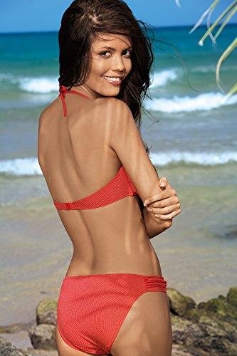 Feba Push Up Bikini conjunto para mujer Meggy Coral