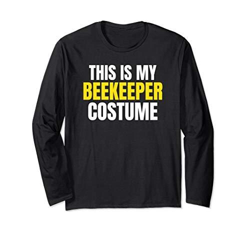 (This Is My Beekeeper Costume Funny Halloween LS)