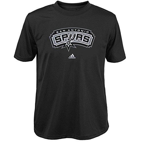 San Antonio Spurs Primary Logo Black T-shirt XX-Large