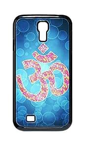 Cool Painting OM Lotus Flower Snap-on Hard Back Case Cover Shell for Samsung GALAXY S4 I9500 I9502 I9508 I959 -1208 wangjiang maoyi