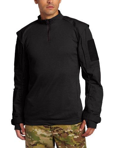 Propper Men's TAC.U Combat Shirt, Black, Small Short by Propper