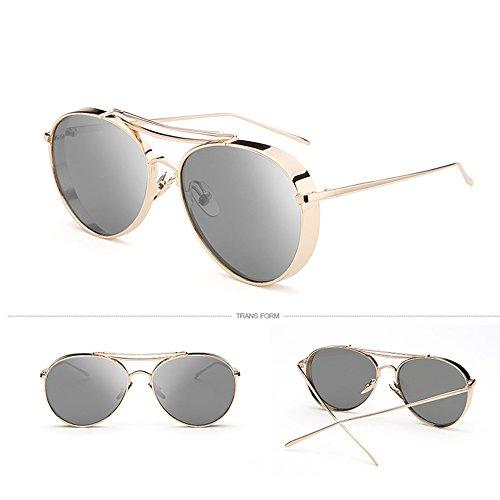 de de la sol ZHIRONG del alta la protección la de de manera de sol definición sol luz la de de de 05 06 Color Gafas de sol gafas polarizada aire al sol de la libre protección Gafas gafas la xwqFCwn40