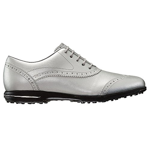 Silver Metallic Golf Shoes FootJoy Collection 2017 Spikeless Tailored Women qxT46